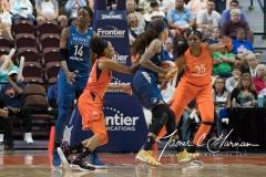 WNBA - Connecticut Sun 96 vs. Minnesota Lynx 79 (109)