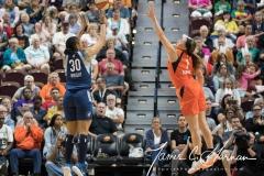 WNBA - Connecticut Sun 96 vs. Minnesota Lynx 79 (110)