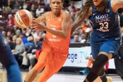 WNBA - Connecticut Sun 96 vs. Minnesota Lynx 79 (113)