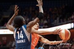 WNBA - Connecticut Sun 96 vs. Minnesota Lynx 79 (114)