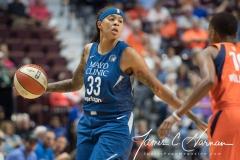 WNBA - Connecticut Sun 96 vs. Minnesota Lynx 79 (19)