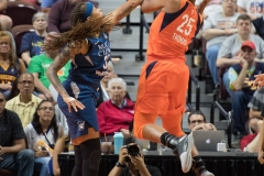 WNBA - Connecticut Sun 96 vs. Minnesota Lynx 79 (23)