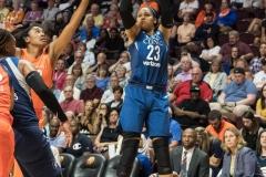 WNBA - Connecticut Sun 96 vs. Minnesota Lynx 79 (45)