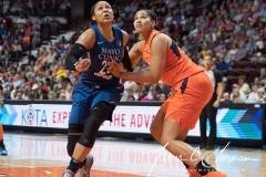 WNBA - Connecticut Sun 96 vs. Minnesota Lynx 79 (51)