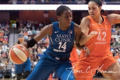 WNBA - Connecticut Sun 96 vs. Minnesota Lynx 79 (52)