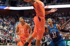 WNBA - Connecticut Sun 96 vs. Minnesota Lynx 79 (56)