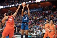 WNBA - Connecticut Sun 96 vs. Minnesota Lynx 79 (61)