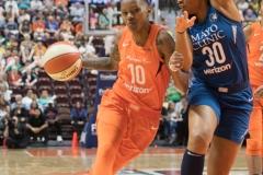 WNBA - Connecticut Sun 96 vs. Minnesota Lynx 79 (71)