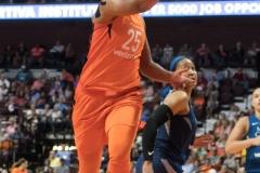 WNBA - Connecticut Sun 96 vs. Minnesota Lynx 79 (74)