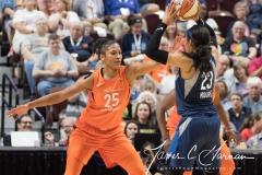 WNBA - Connecticut Sun 96 vs. Minnesota Lynx 79 (79)