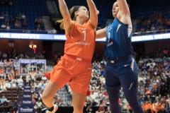 WNBA - Connecticut Sun 96 vs. Minnesota Lynx 79 (81)