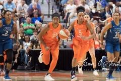 WNBA - Connecticut Sun 96 vs. Minnesota Lynx 79 (95)
