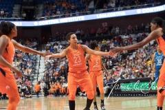 WNBA - Connecticut Sun 96 vs. Minnesota Lynx 79 (98)