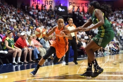 WNBA Connecticut Sun 96 vs. Seattle Storm 89 (18)