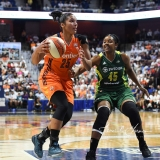 WNBA Connecticut Sun 96 vs. Seattle Storm 89 (36)