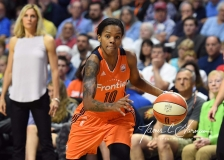 WNBA Connecticut Sun 96 vs. Seattle Storm 89 (45)