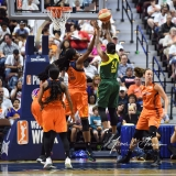 WNBA Connecticut Sun 96 vs. Seattle Storm 89 (46)