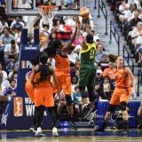WNBA Connecticut Sun 96 vs. Seattle Storm 89 (46)