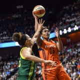 WNBA Connecticut Sun 96 vs. Seattle Storm 89 (52)