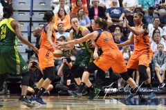 WNBA Connecticut Sun 96 vs. Seattle Storm 89 (54)