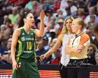 WNBA Connecticut Sun 96 vs. Seattle Storm 89 (58)