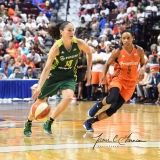 WNBA Connecticut Sun 96 vs. Seattle Storm 89 (73)
