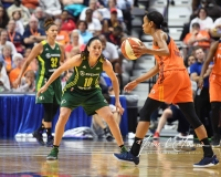 WNBA Connecticut Sun 96 vs. Seattle Storm 89 (75)