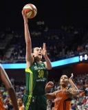 WNBA Connecticut Sun 96 vs. Seattle Storm 89 (77)