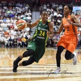 WNBA Connecticut Sun 96 vs. Seattle Storm 89 (79)