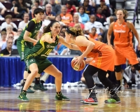 WNBA Connecticut Sun 96 vs. Seattle Storm 89 (96)