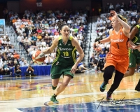 WNBA Connecticut Sun 96 vs. Seattle Storm 89 (98)