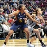 WNBA CT Sun 76 vs. San Antonio Stars 53 (61)