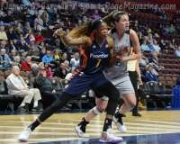 WNBA CT Sun 76 vs. San Antonio Stars 53 (71)