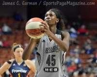 WNBA CT Sun 76 vs. San Antonio Stars 53 (72)
