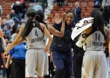 WNBA CT Sun 76 vs. San Antonio Stars 53 (83)