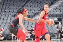 Gallery WNBA: Las Vegas Aces 70 vs Washington Mystics 99