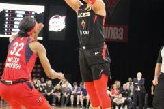 Gallery WNBA: Las Vegas Aces 72 vs Washington Mystics 95