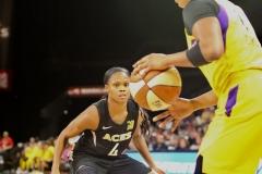Gallery WNBA: LV Aces 78 vs LA Sparks 101