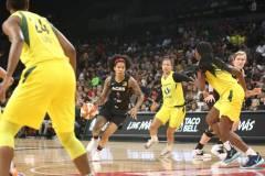 Gallery WNBA: Las Vegas Aces 79 vs Seattle Storm 62