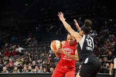 Gallery WNBA: Las Vegas Aces 85 vs Washington Mystics 73