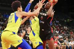 Gallery WNBA: Las Vegas Aces 86 vs Dallas Wings 54