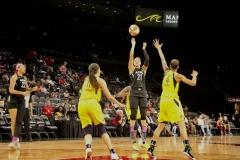 Gallery WNBA: Las Vegas Aces 92 vs Indiana Fever 74