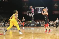 Gallery WNBA: Las Vegas Aces 92 vs Los Angeles Sparks 86