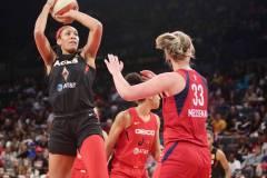 Gallery WNBA: Las Vegas Aces 92 vs Washington Mystics 75