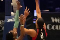 WNBA - New York Liberty 58 vs. Las Vegas Aces 90 (10)