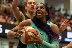 WNBA - New York Liberty 58 vs. Las Vegas Aces 90 (45)