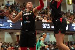 WNBA - New York Liberty 58 vs. Las Vegas Aces 90 (46)