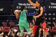 WNBA - New York Liberty 58 vs. Las Vegas Aces 90 (47)