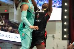 WNBA - New York Liberty 58 vs. Las Vegas Aces 90 (48)