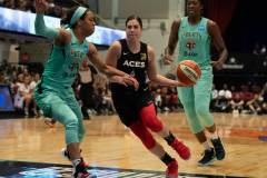WNBA - New York Liberty 58 vs. Las Vegas Aces 90 (50)